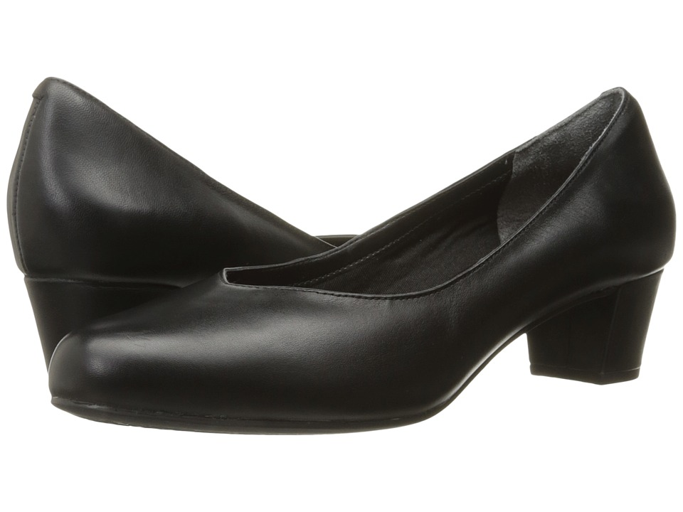 Rockport - Total Motion Charis (Black Leather) Women's Shoes
