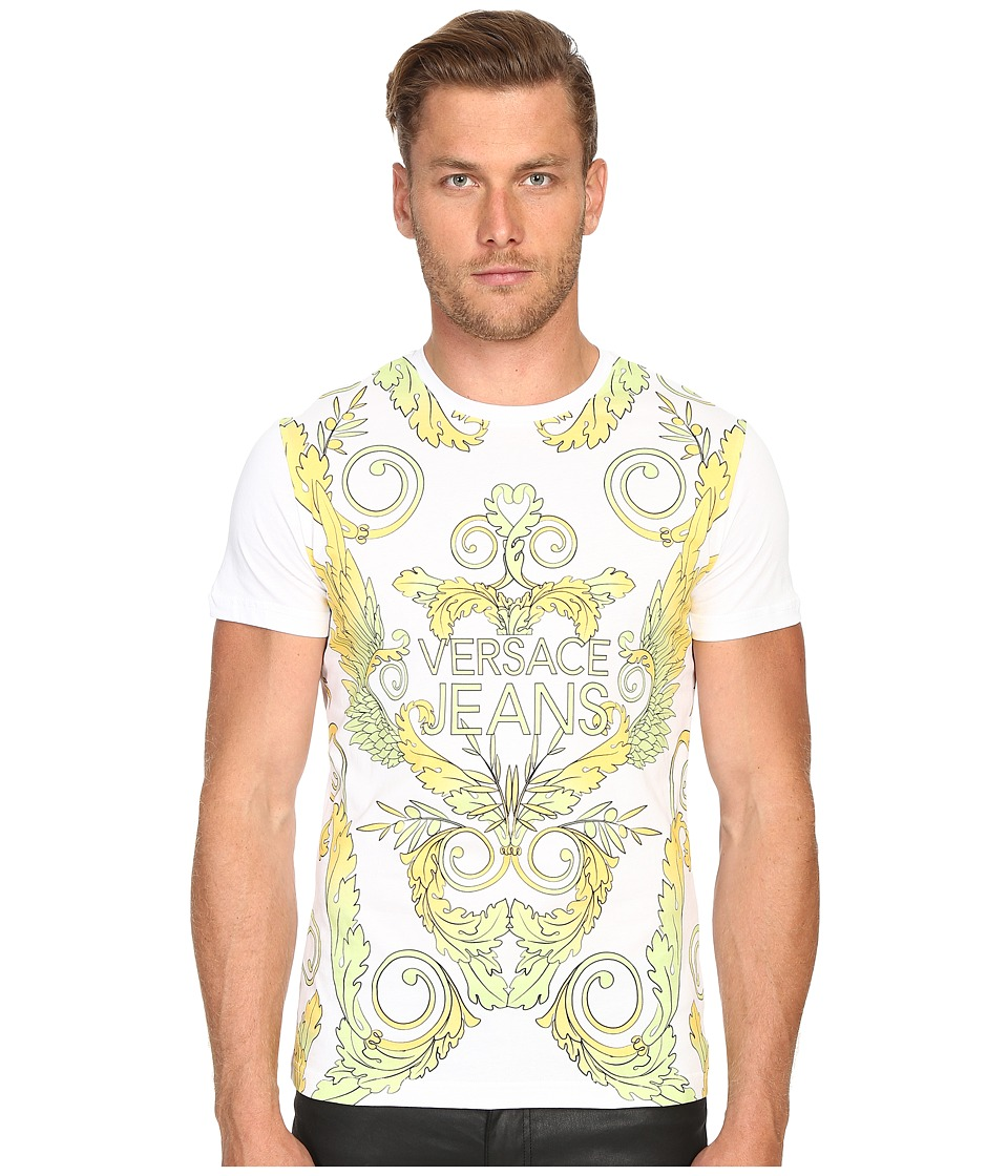 Versace Jeans - Baroque Mars T-Shirt (White) Men's T Shirt