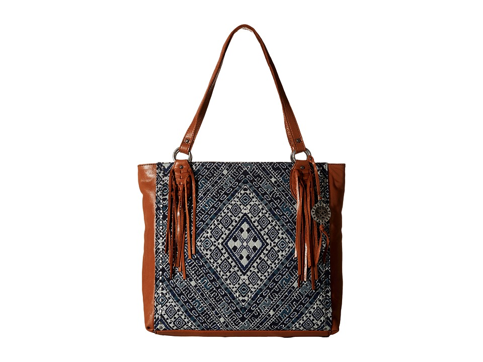 The Sak - Montara Tote (Blue Diamond) Tote Handbags