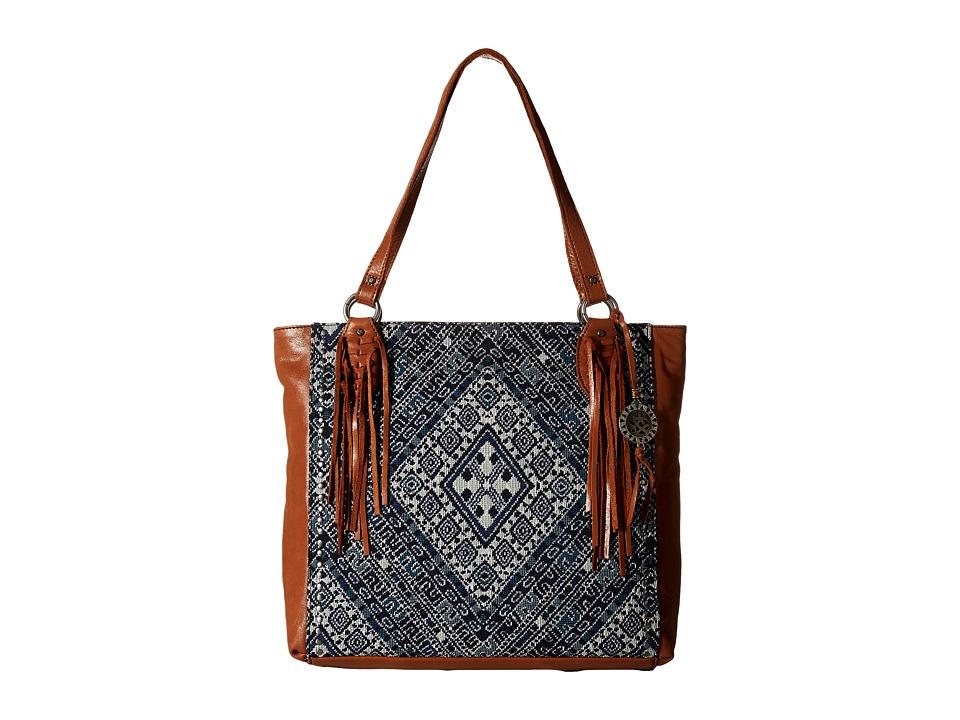 The Sak - Montara Tote (Blue Diamond) Tote Handbags