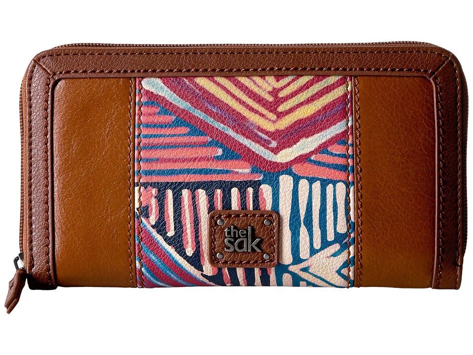 The Sak - Iris Zip Around Wallet (Madura Print) Wallet Handbags