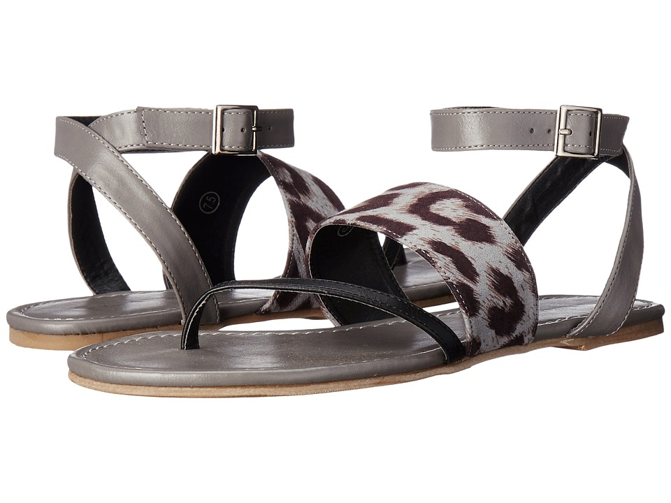 C Label - Darby-13 (Black/Grey) Women's Sandals