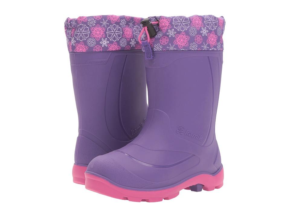 Kamik Kids - Snobuster 2 (Toddler/Little Kid/Big Kid) (Purple/Magenta) Girls Shoes