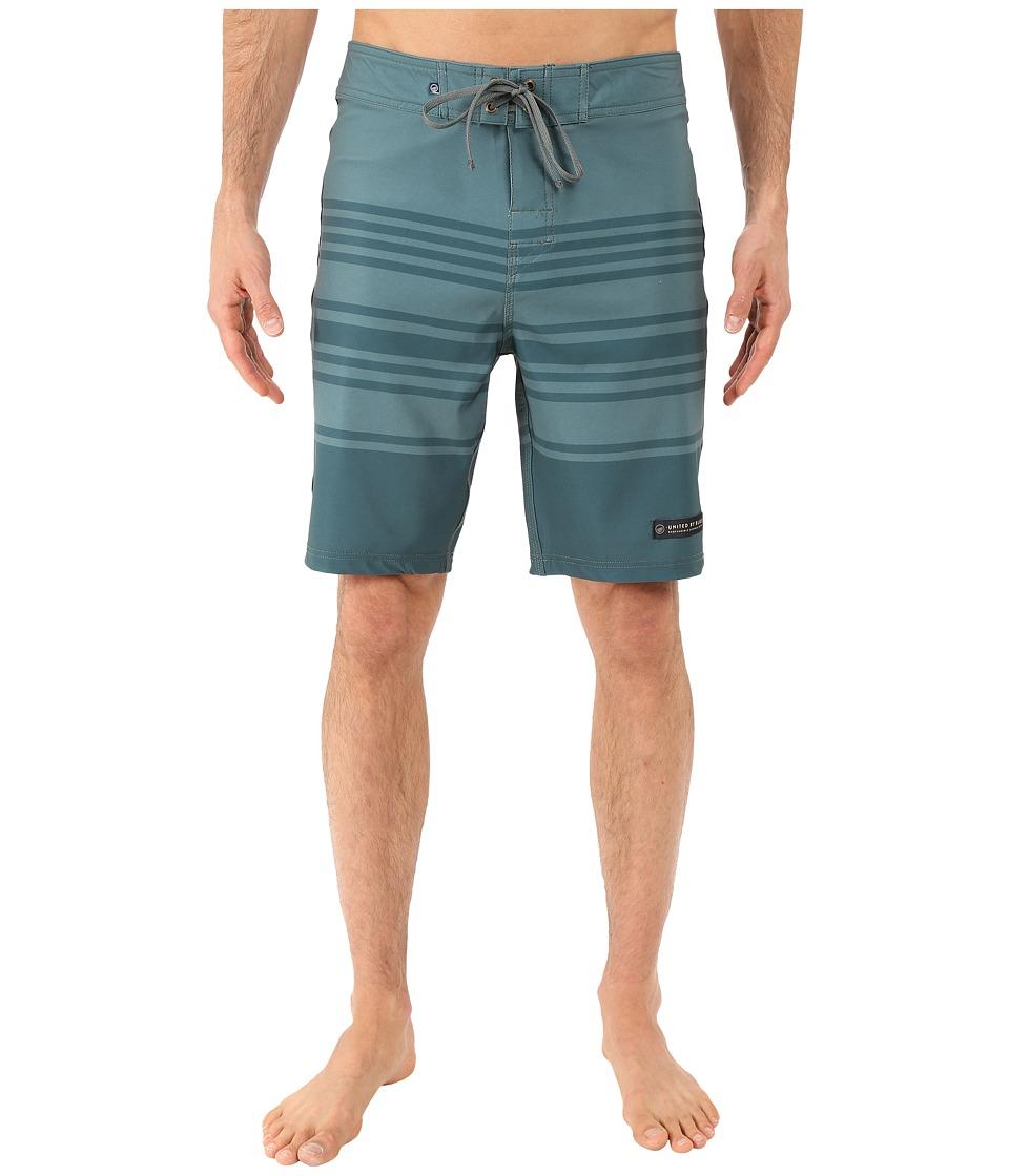 United By Blue Headwaters Boardshorts (Green) Men