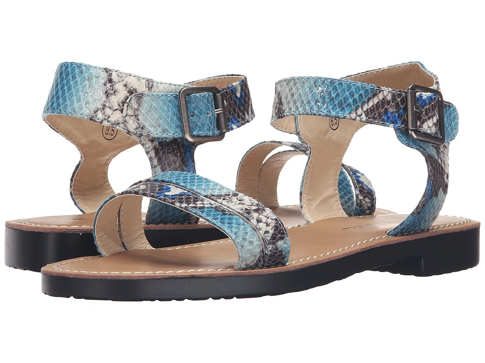 C Label - Daria-3A (Blue) Women's Sandals