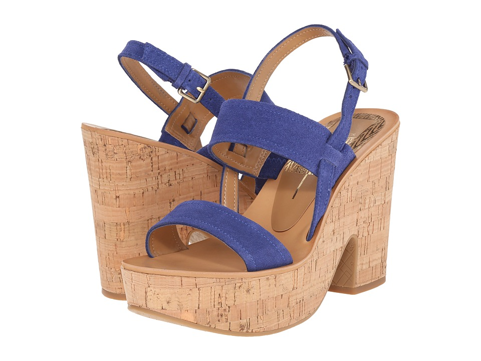 Dolce Vita - Tilly (Blue Suede) Women