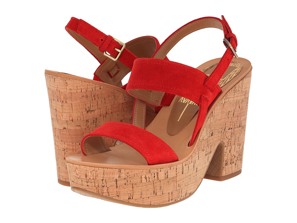 Dolce Vita - Tilly (Red Suede) Women
