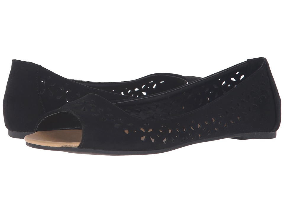 C Label - Krimp-1 (Black) Women's Flat Shoes