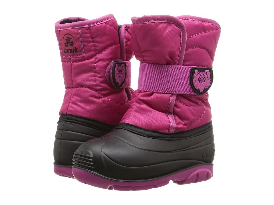 Kamik Kids Snowbug 3 (Toddler) (Rose) Girls Shoes