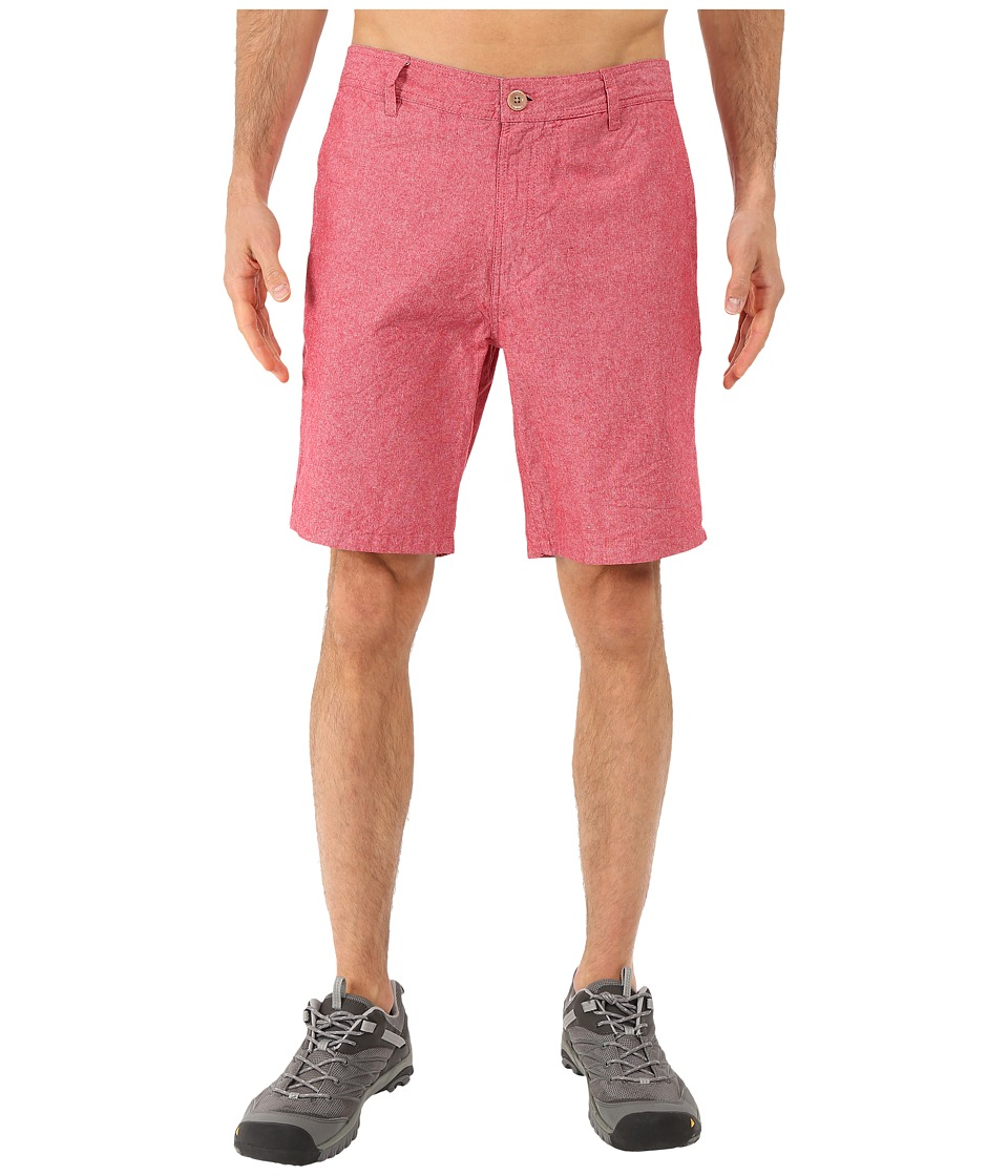 United By Blue - The Selby Shorts (Red) Men's Shorts