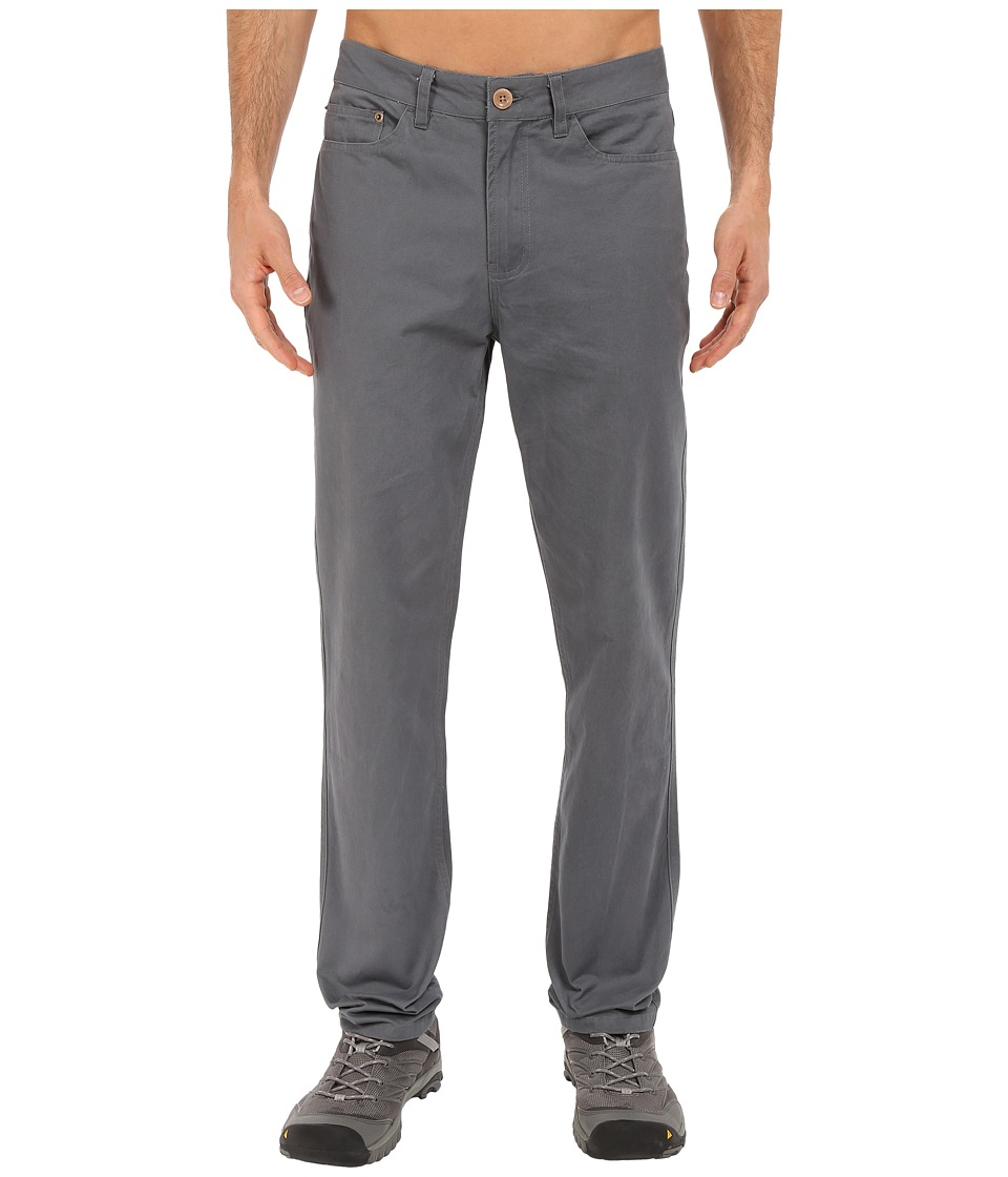 United By Blue - Dominion Twill Pants (Grey) Men's Casual Pants