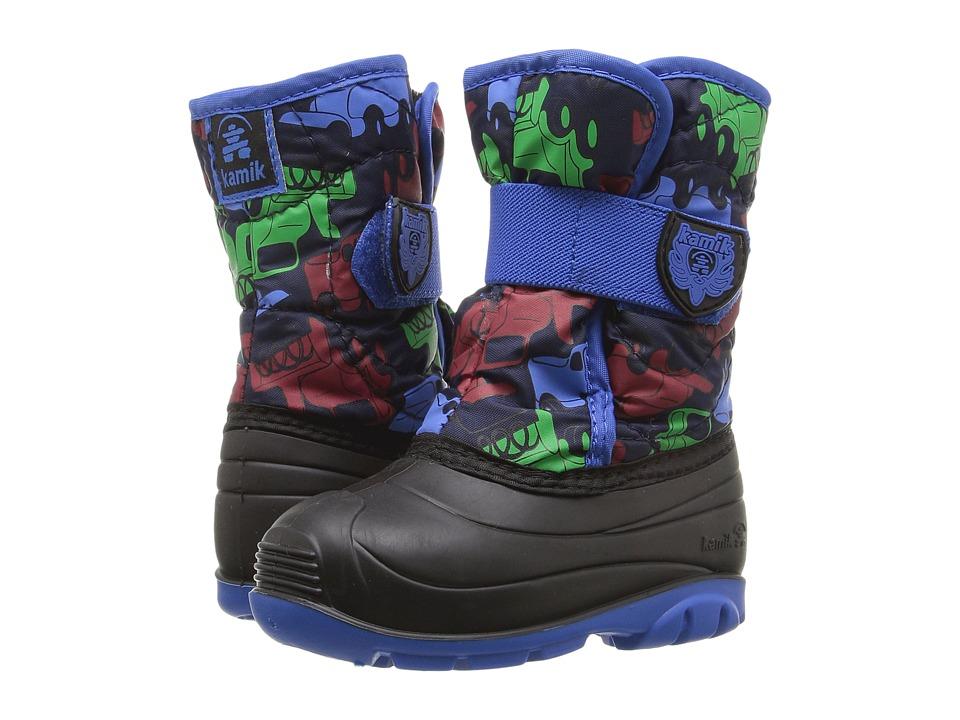 Kamik Kids - Snowbug 4 (Toddler) (Navy/Blue) Boys Shoes
