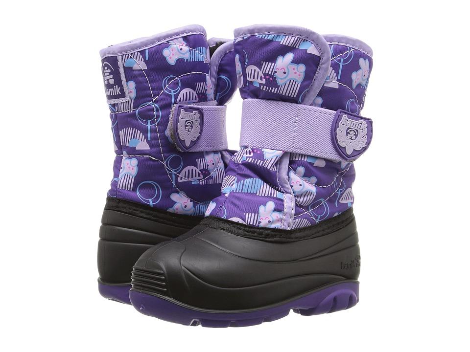 Kamik Kids - Snowbug 4 (Toddler) (Purple/Lilac) Girls Shoes