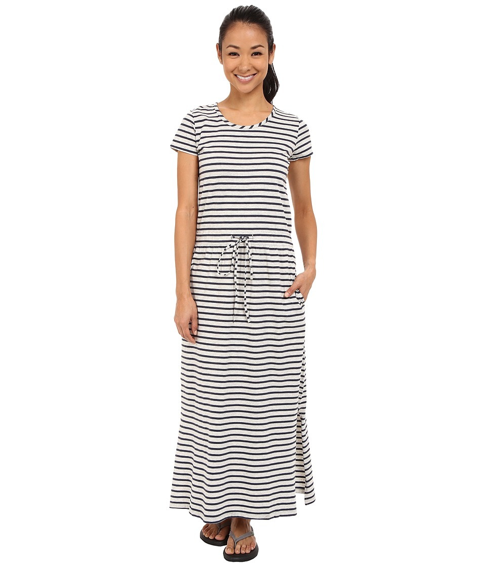 United By Blue - Ryde Maxi Dress (Navy/Grey) Women's Dress