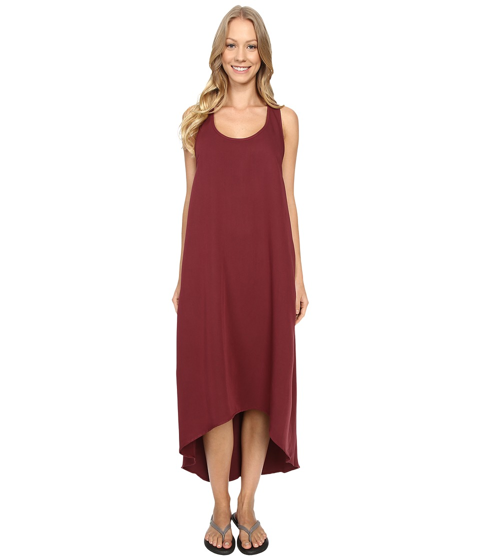 United By Blue - Morley Maxi Dress (Burgundy) Women's Dress