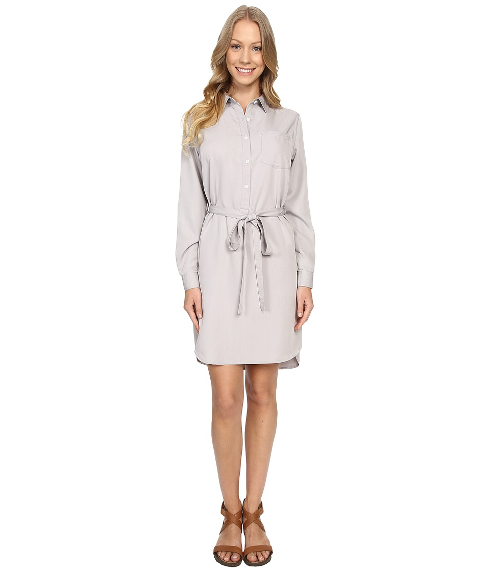 United By Blue - Banbury Tencel Dress (Grey) Women's Dress
