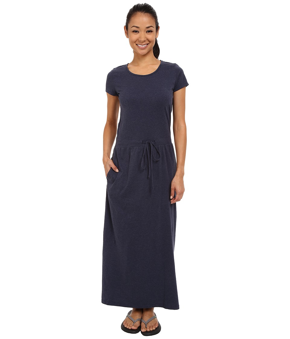 United By Blue - Ryde Maxi Dress (Navy) Women's Dress