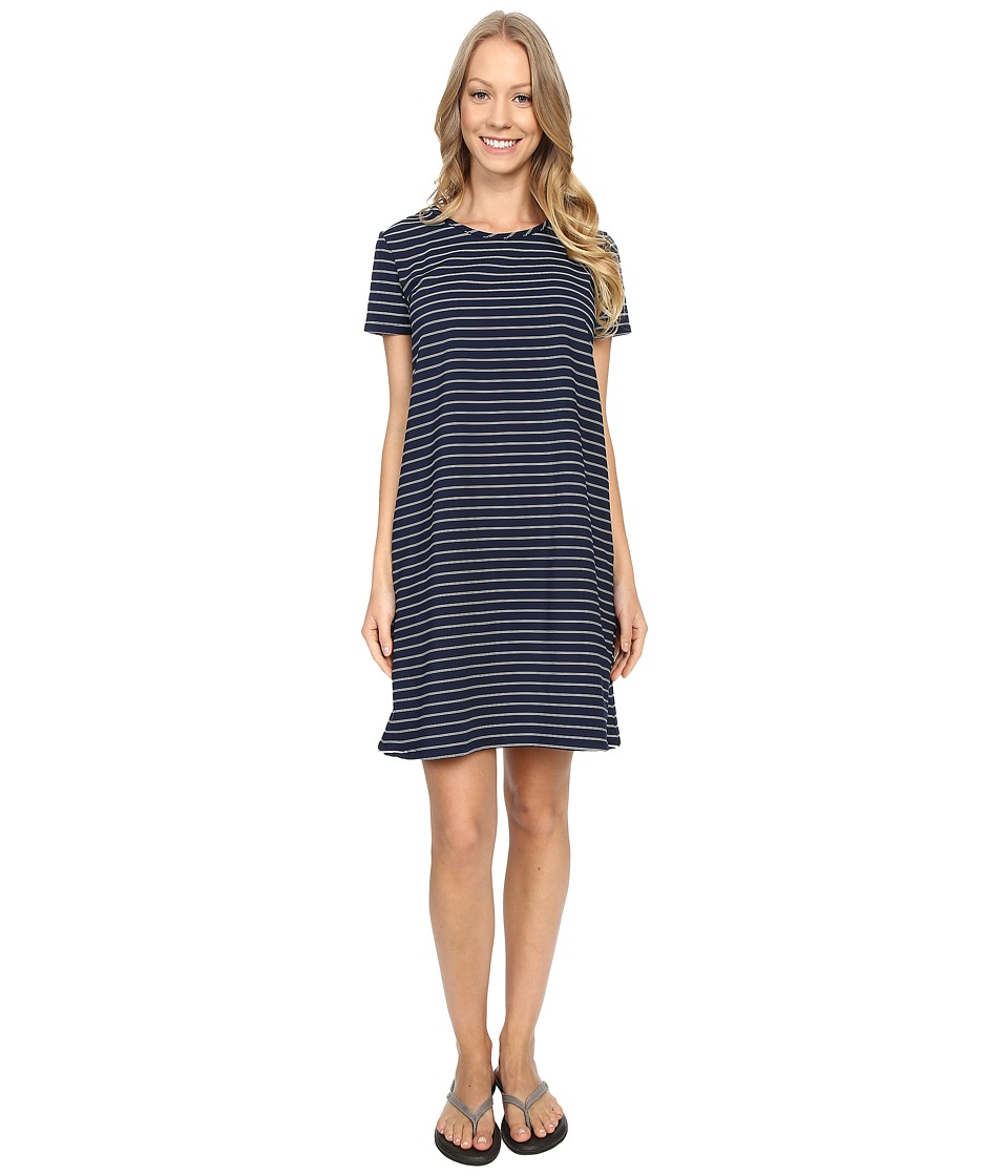 United By Blue - Hyde Stripe Swing Dress (Blue) Women