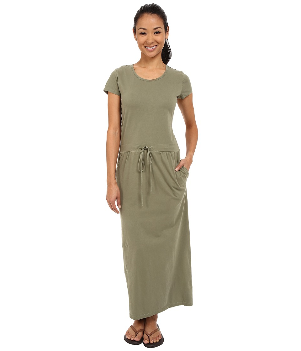 United By Blue - Ryde Maxi Dress (Green) Women's Dress