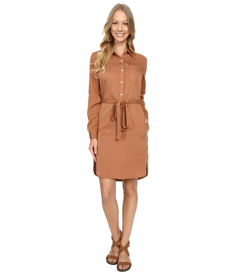United By Blue - Banbury Tencel Dress (Tan) Women's Dress