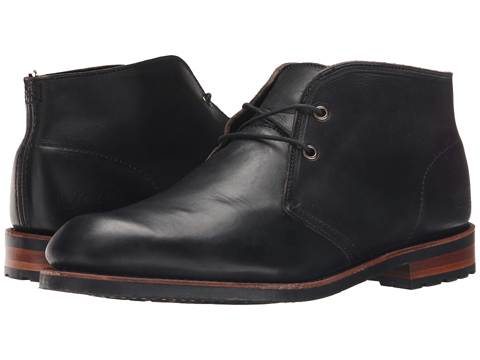 UGG - Trumann (Black) Men's Shoes