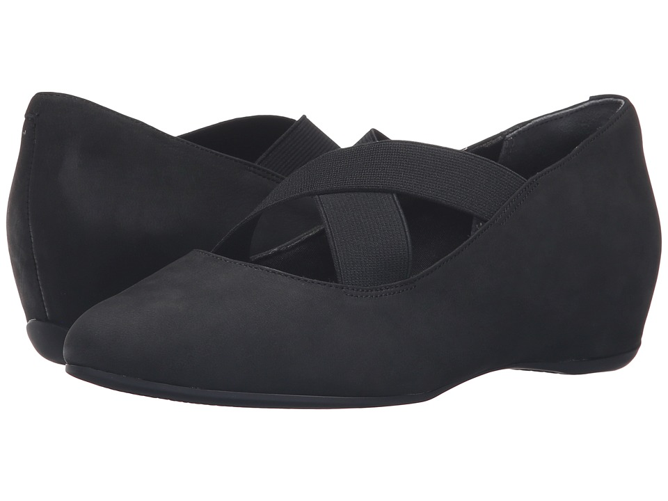 Rockport - Total Motion Etenia (Black Nubuck) Women's Maryjane Shoes