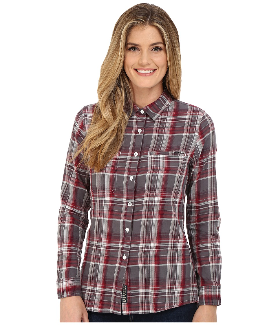 United By Blue - Ash Plaid Shirt (Red/Grey) Women's Clothing