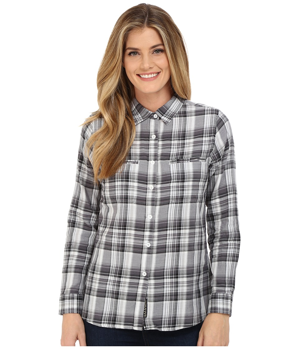 United By Blue - Ash Plaid Shirt (Black/White) Women's Clothing