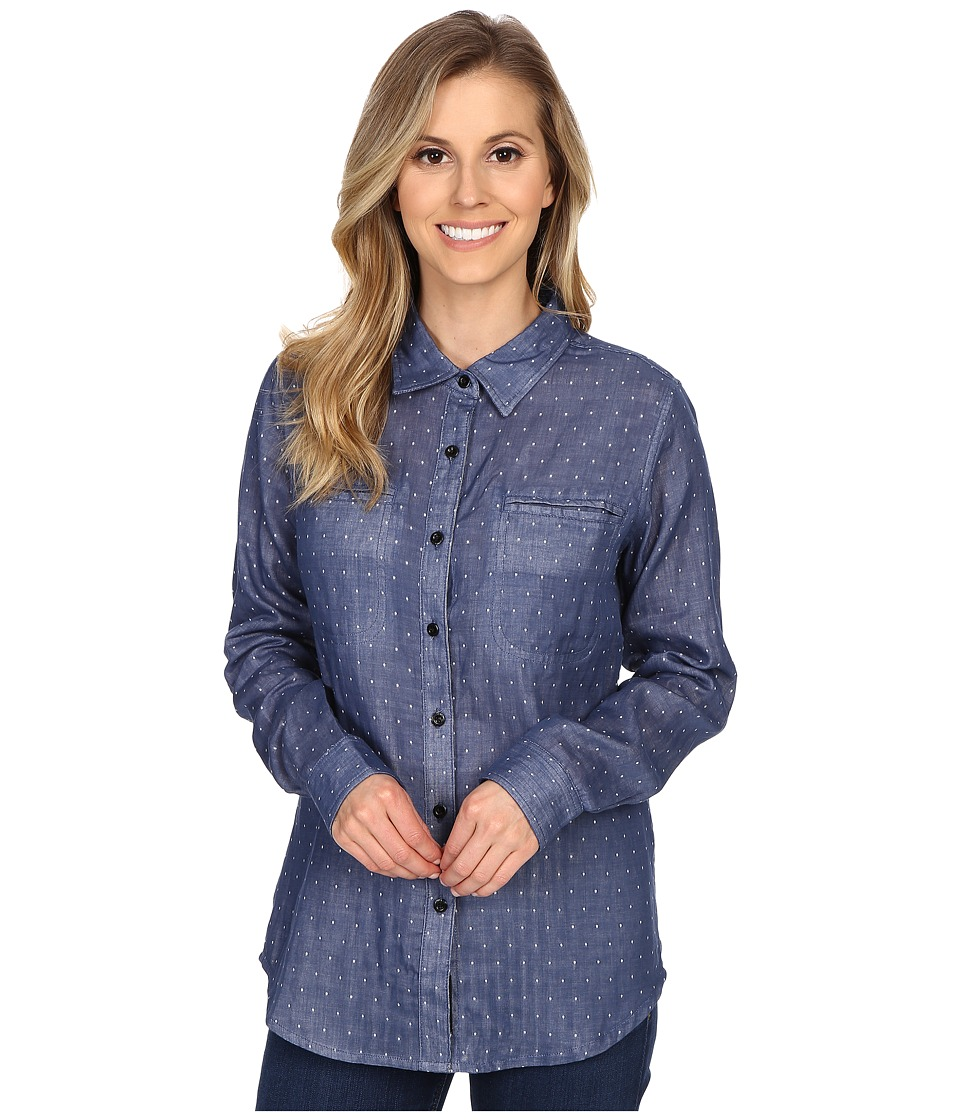 United By Blue - Lewis Dot (Blue) Women's Clothing