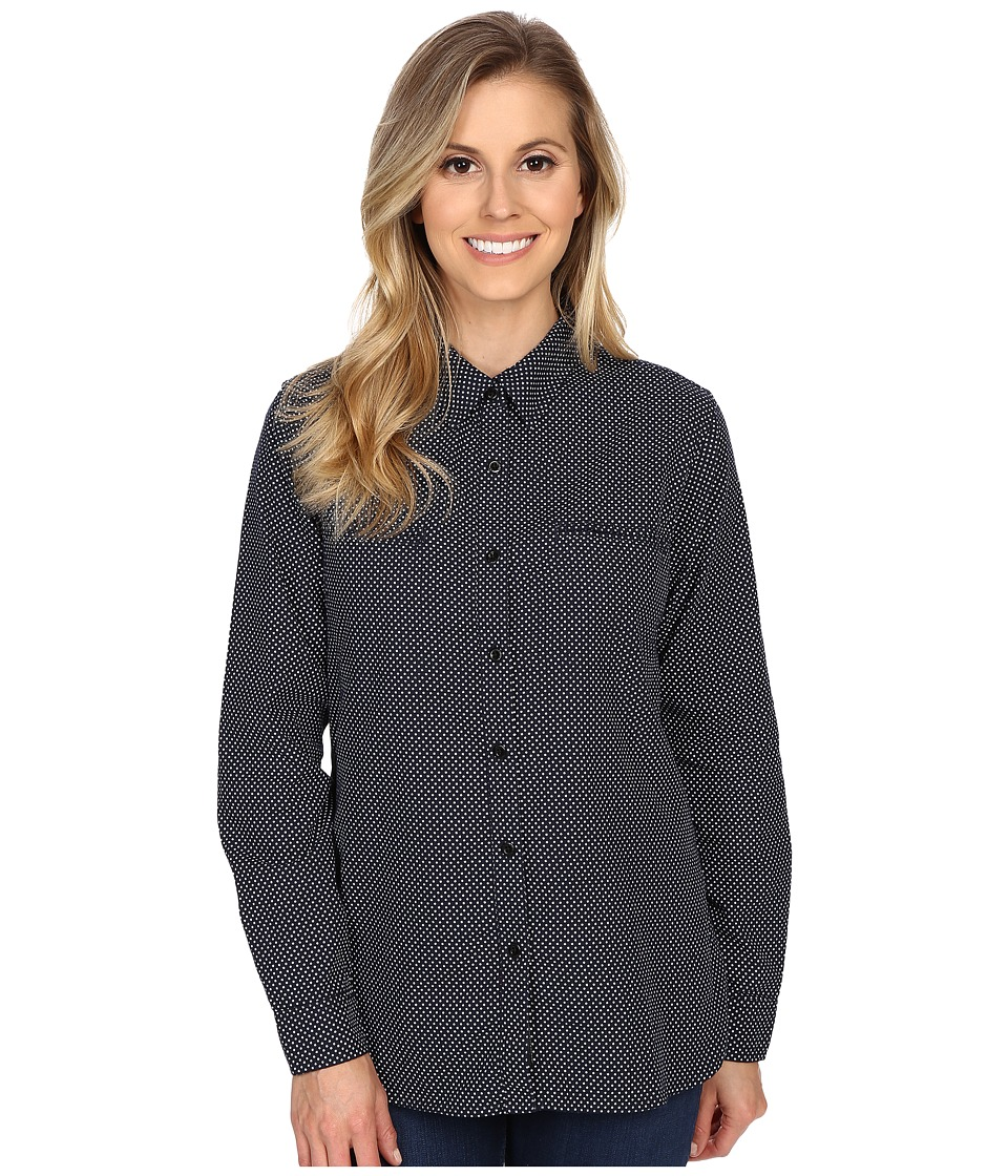 United By Blue - Star Button Down (Navy Star) Women's Clothing
