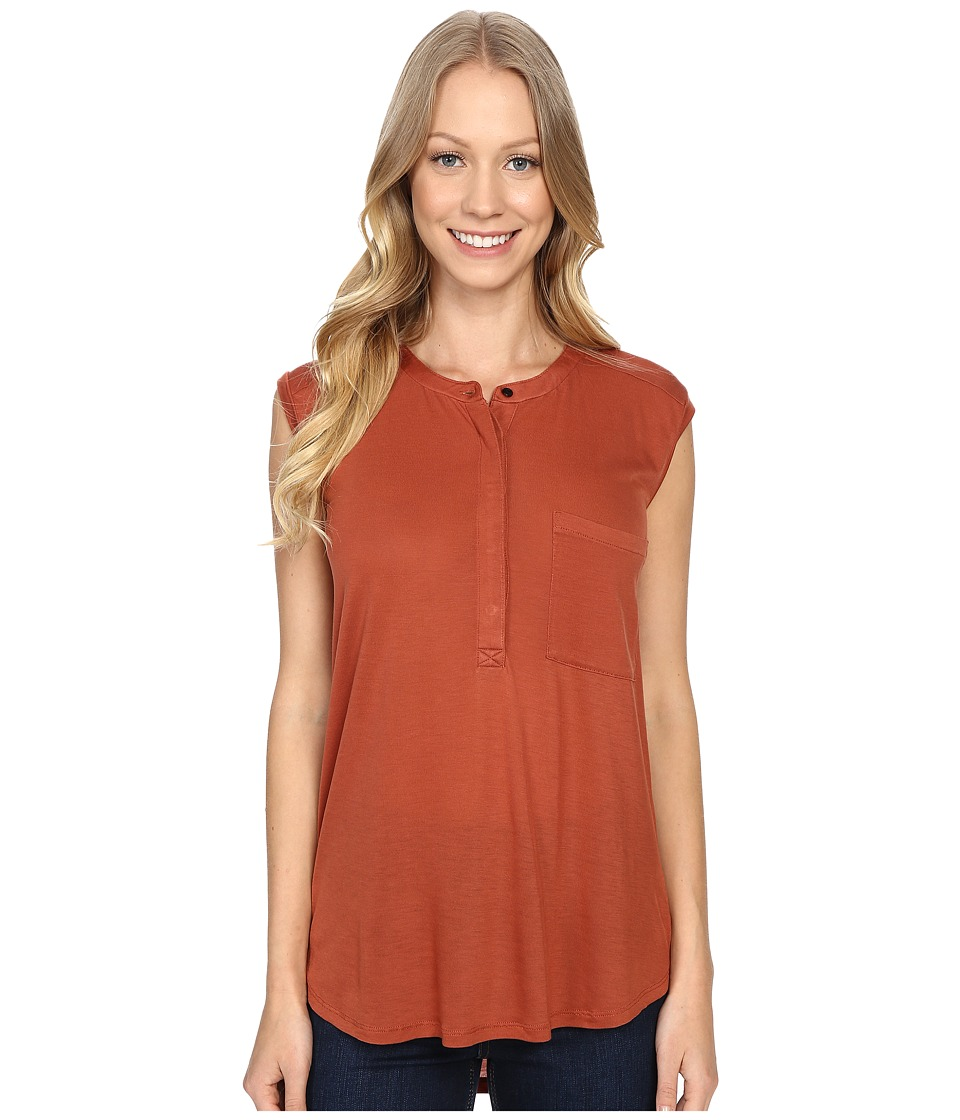 United By Blue - Avalon Tank Top (Rust) Women's Sleeveless