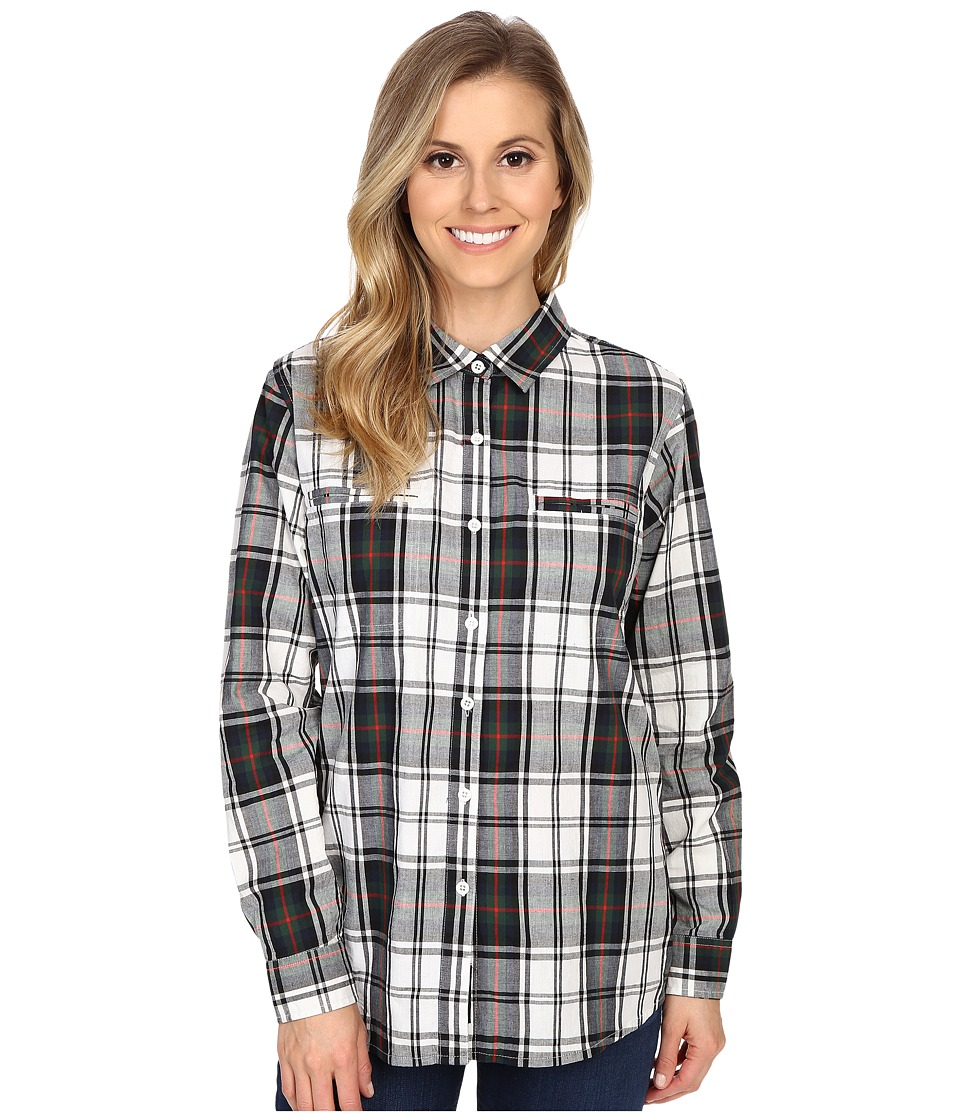 United By Blue - Ellis Plaid Shirt (Green/Black) Women's Clothing