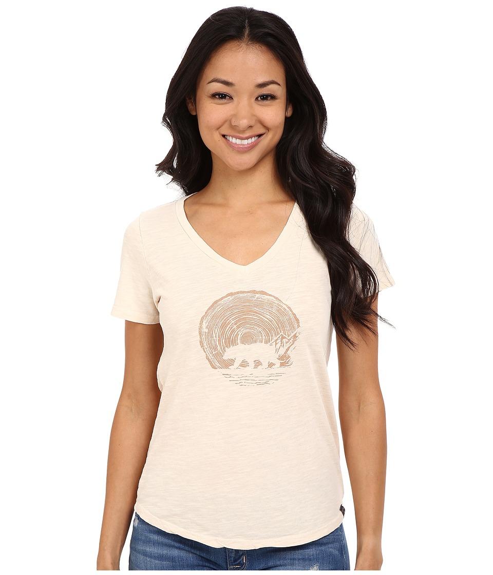 United By Blue - Woodgrain Bear (Turtledove) Women's Clothing