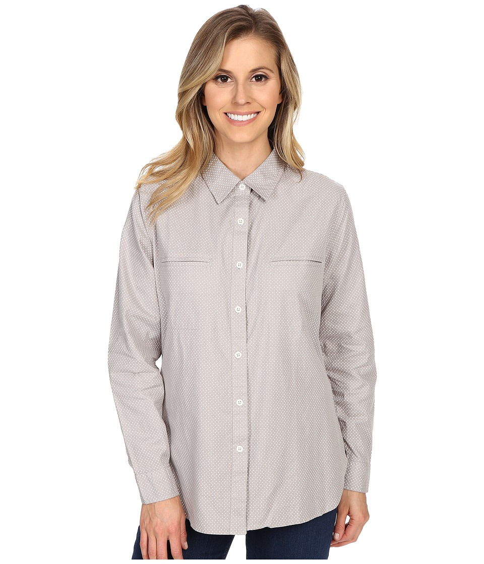 United By Blue - Star Button Down (Grey Star) Women's Clothing