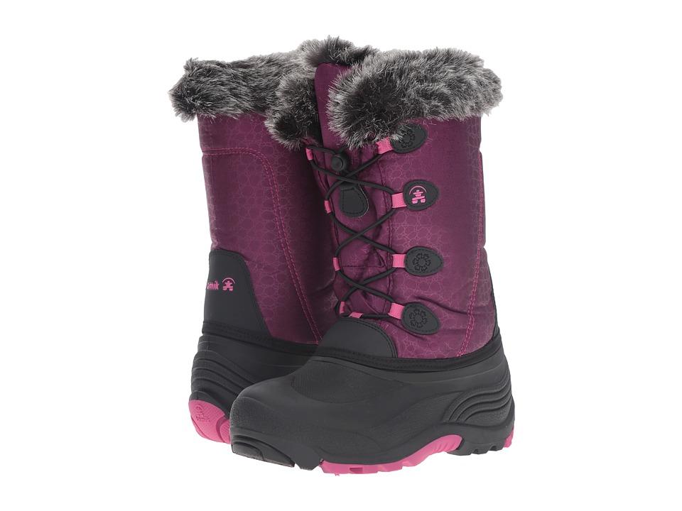 Kamik Kids Snowgypsy (Toddler/Little Kid/Big Kid) (Plum) Girls Shoes
