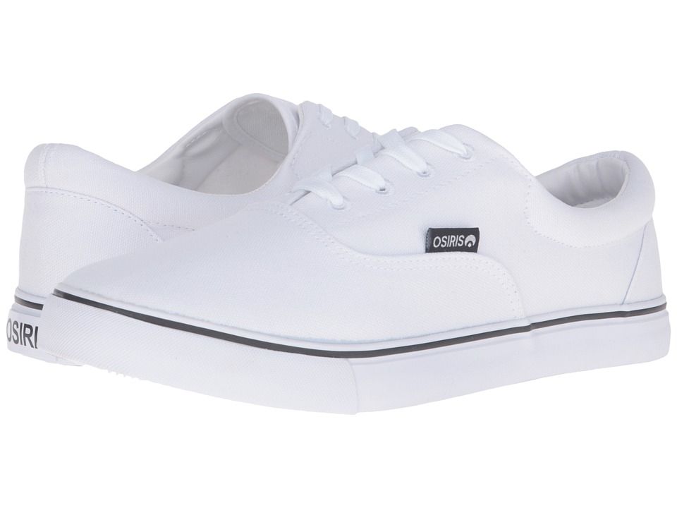 Osiris - SD (White Canvas) Skate Shoes
