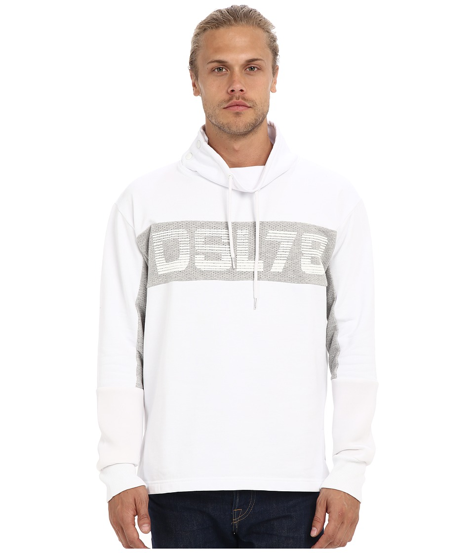 Diesel - S-Future Sweatshirt (White) Men's Sweatshirt