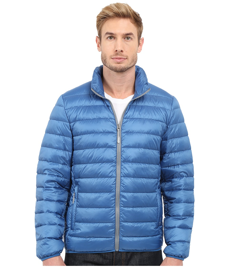 Tumi - Patrol Packable Travel Puffer Jacket (Ocean) Men's Coat