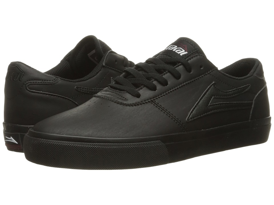 Lakai - Manchester Select (Black/Black Synthetic) Men's Skate Shoes