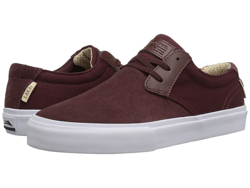 Lakai - M.J. (Mahogany Suede) Men's Skate Shoes