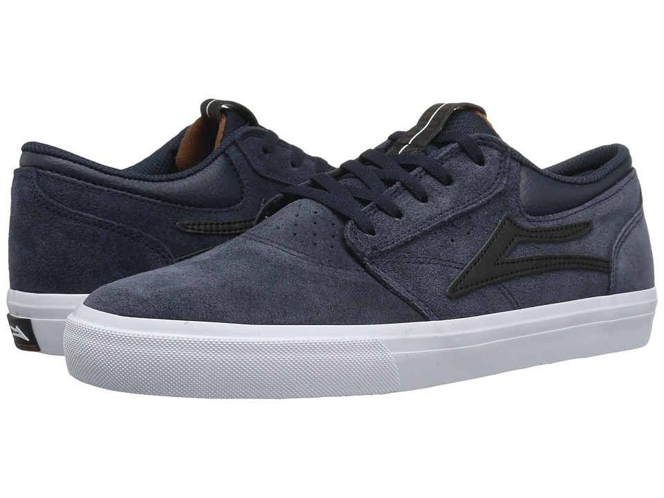Lakai - Griffin (Midnight Suede 2) Men's Skate Shoes