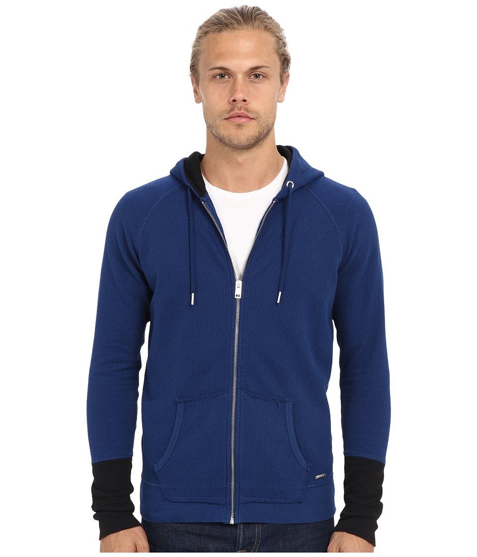 Diesel - S-Cuthood Sweatshirt (Blue) Men's Sweatshirt