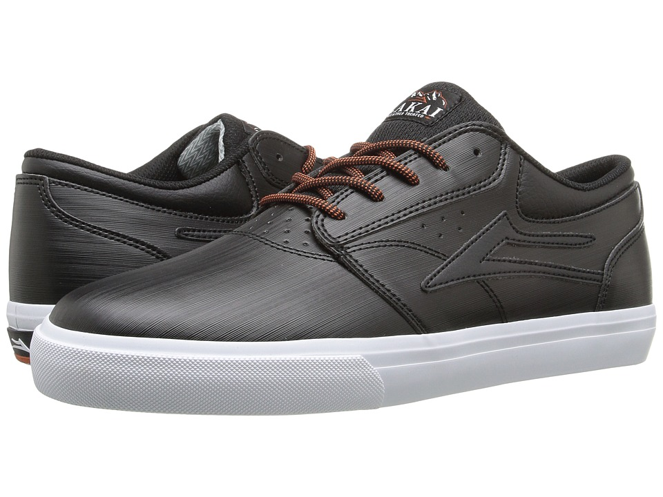 Lakai - Griffin Weather Treated (Black Synthetic) Men's Skate Shoes