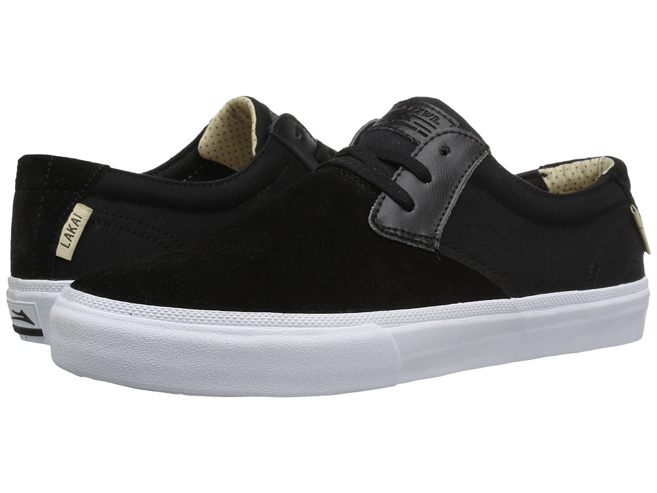 Lakai - M.J. (Black Suede 2) Men's Skate Shoes