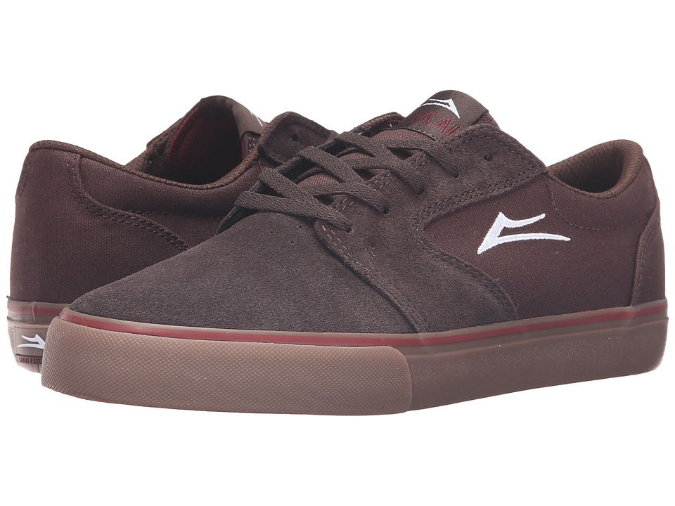 Lakai - Fura (Brown Gum Suede) Men's Skate Shoes