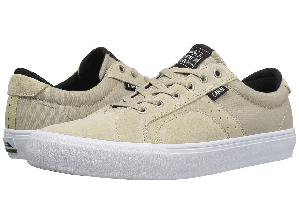 Lakai - Flaco (Cream Suede) Men's Skate Shoes