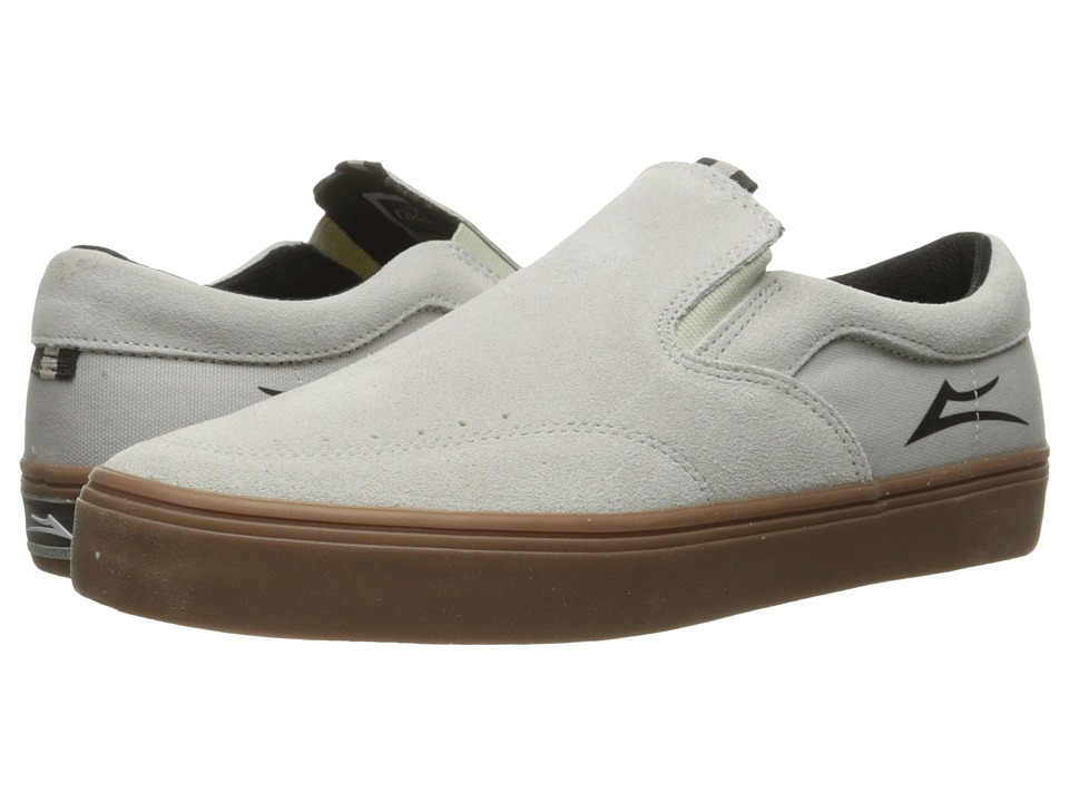 Lakai Owen (White/Gum Suede) Men