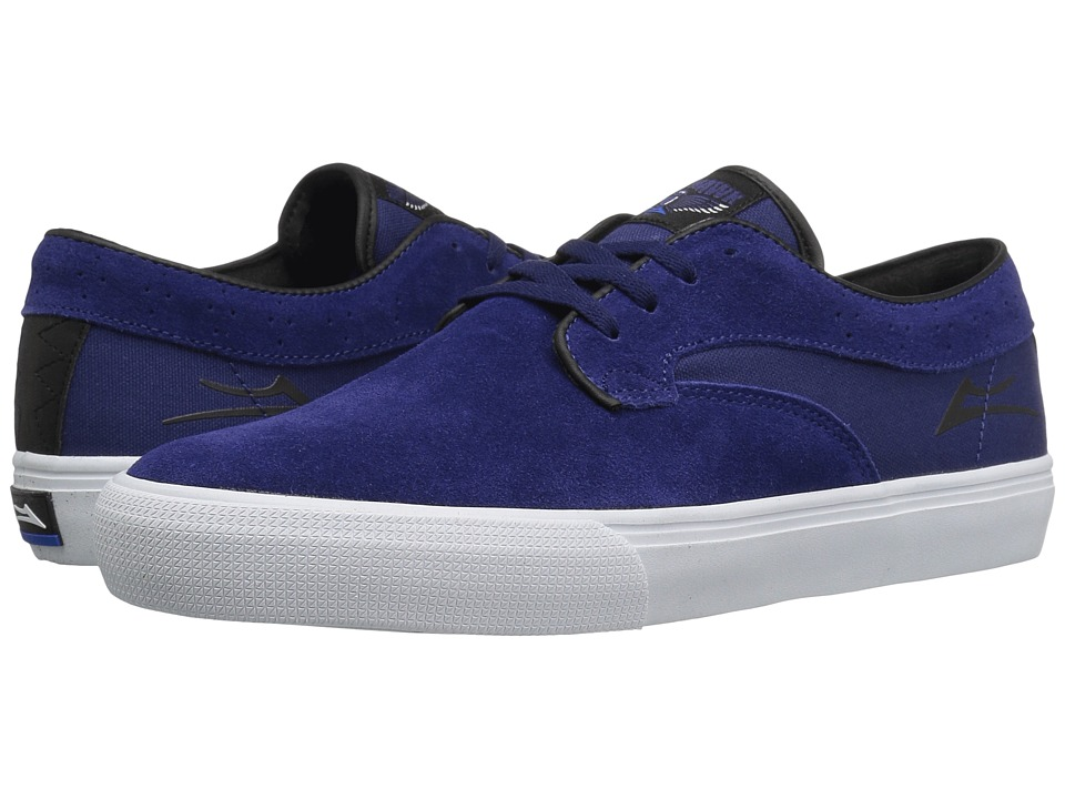 Lakai - Riley Hawk (Indigo Suede) Men's Skate Shoes