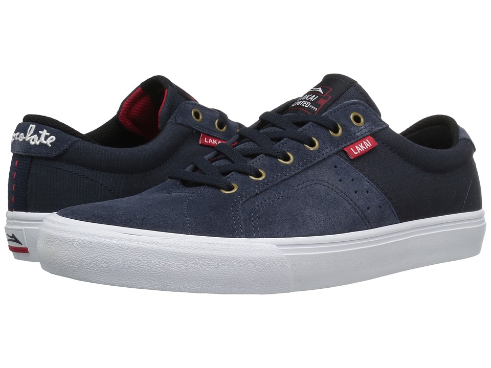 Lakai - Flaco x Chocolate (Midnight Suede) Men's Skate Shoes