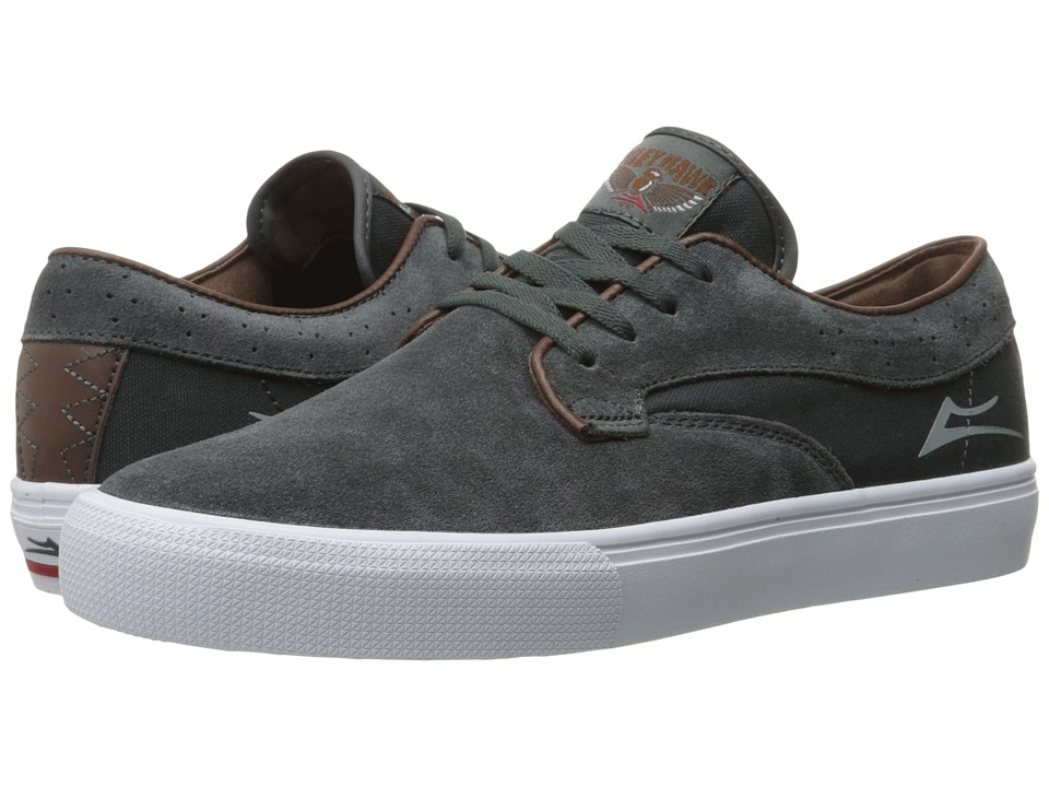 Lakai Riley Hawk (Gargoyle Suede) Men
